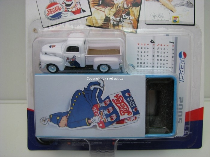Ford F1 pick Up Pepsi box 1:72 Cararama
