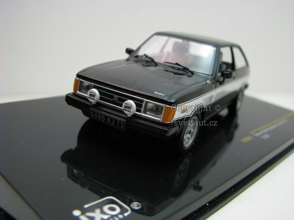 Simca Talbot Sunbeam Lotus Phase 1 1980 1:43 Ixo
