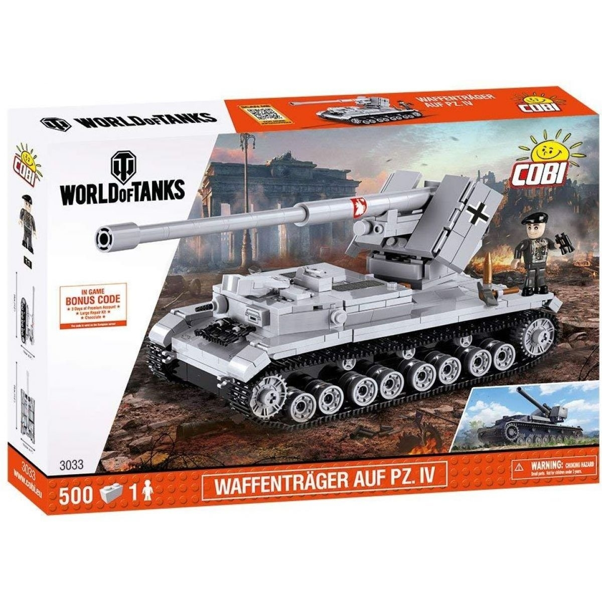 Cobi 3033 Malá armáda Waffentrager AUF PZ. IV World Of Tanks