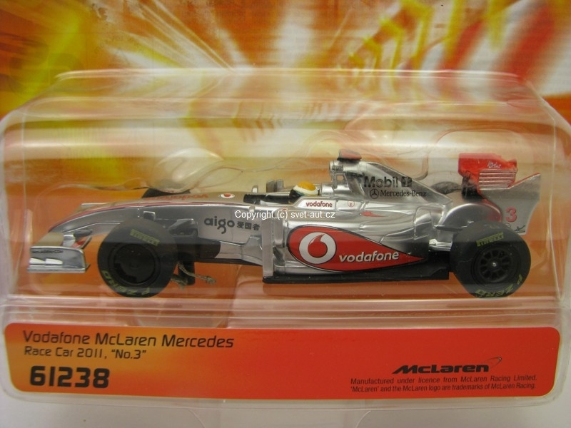 McLaren Mercedes Vodafone Race Car 2011 1:43 Carrera