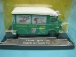 Citroen Type H 1953 magasin Carrosserie Currus 1:43 Eligor
