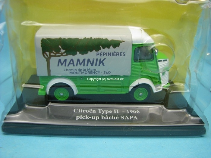 Citroen Type H 1966 pick-up baché Sapa 1:43 Eligor