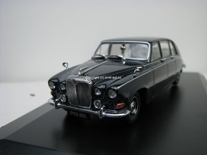 Daimler DS420 Limousine Dark Blue 1:43 Oxford