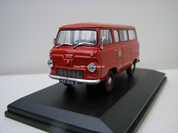 Ford 400E Minibus London Fire Brigade 1:43 Oxford