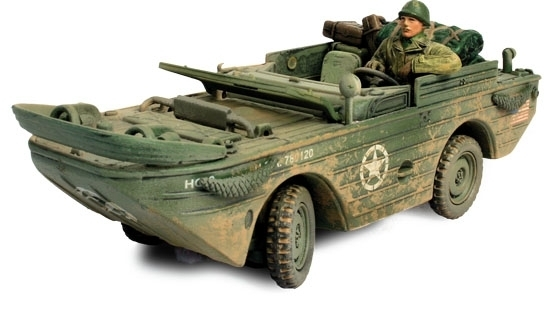 U.S. Amphibian General Purpose Vehicle Normandy 1944 1:32 Unimax Military