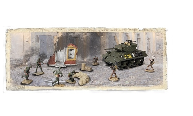U.S. M10 Wolverine Tank Destroyer France 1944 1:72 Unimax Military