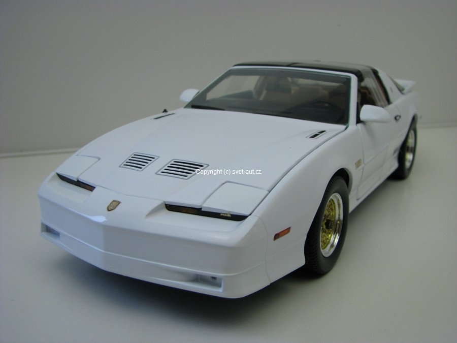 Pontiac Trans AM TTA 1989 white 1:18 Greenlight