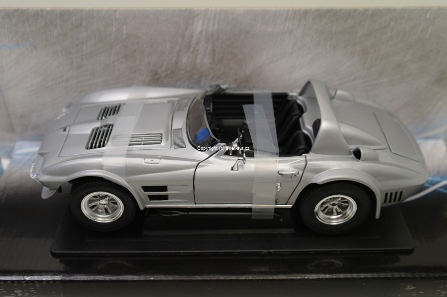 Chevrolet Corvette Grand Sport Fast a Furious 1:18 Greenlight