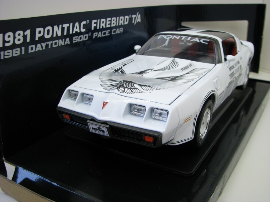 Pontiac Firebird T/A 1981 Daytona 500 Pace Car 1:18 Greenlight