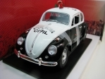 Volkswagen Beetle Fusca policia civil 1967 1:18 Greenlight