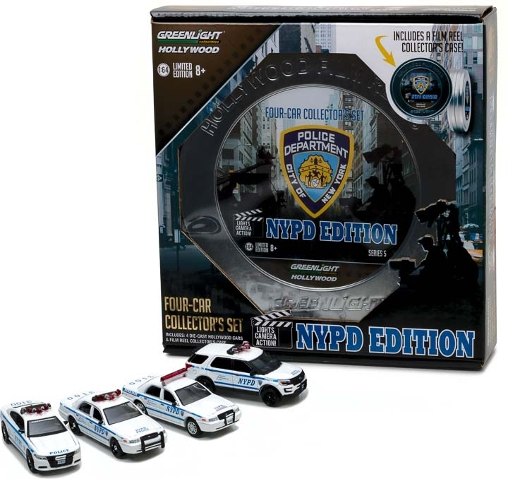 Hollywood Reels Series 5 - NYPD edition 1:64 Greenlight