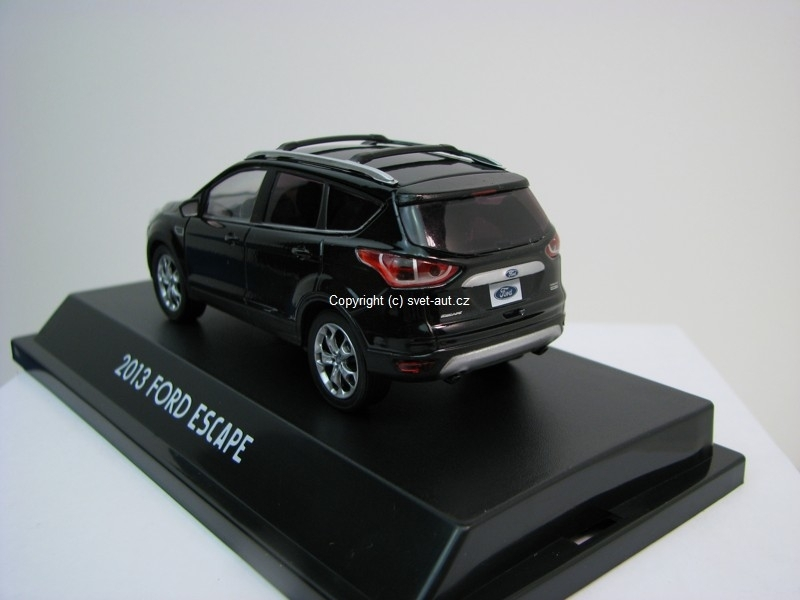 Ford Escape 2013 black 1:43 Greenlight
