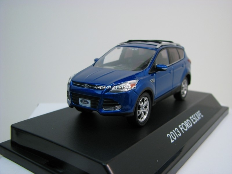 Ford Escape Kuga 2013 blue 1:43 Greenlight