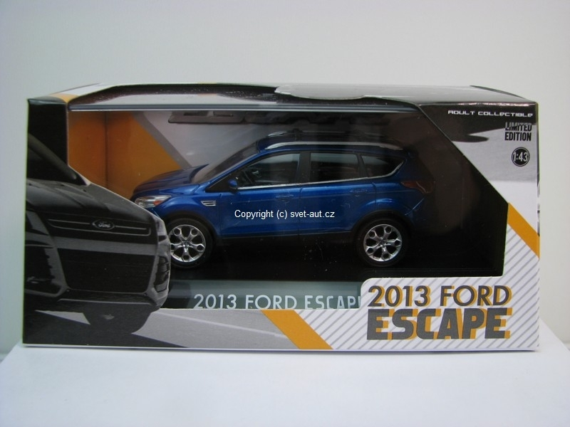 Ford Escape 2013 blue 1:43 Greenlight