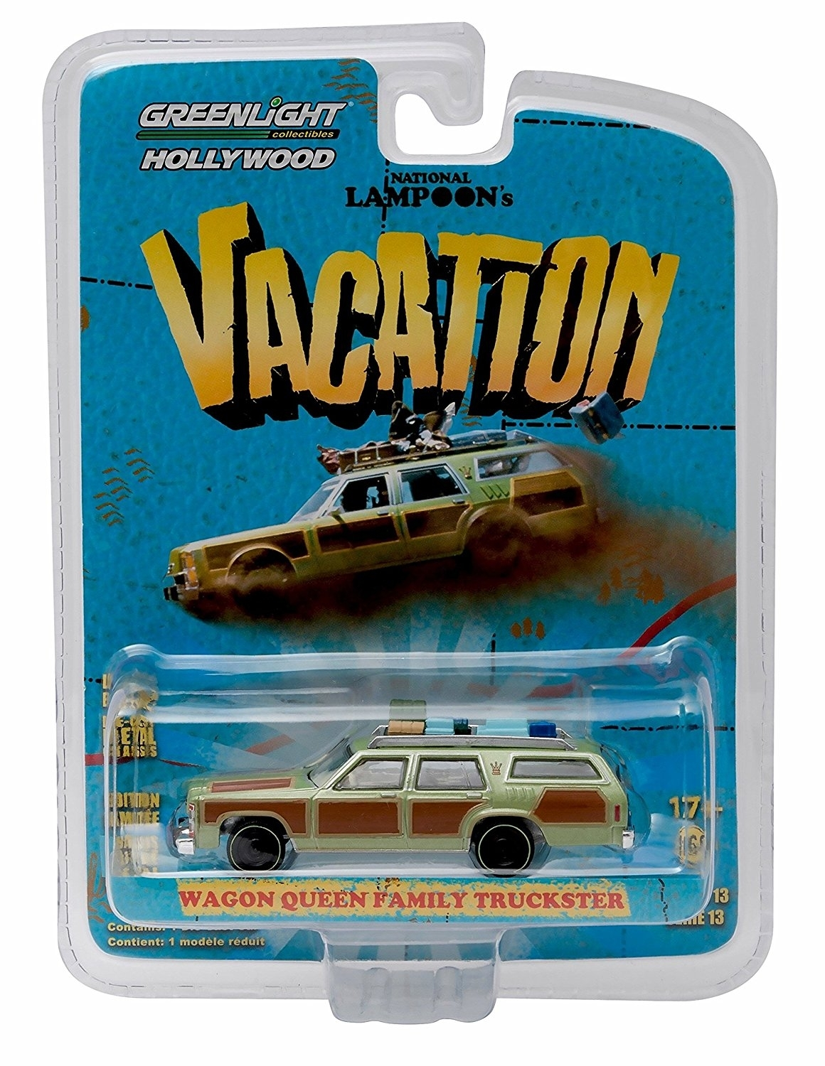 Wagon Queen Family Truckster Vacation Lampoons 1:64 série 13 Hollywood Greenlight