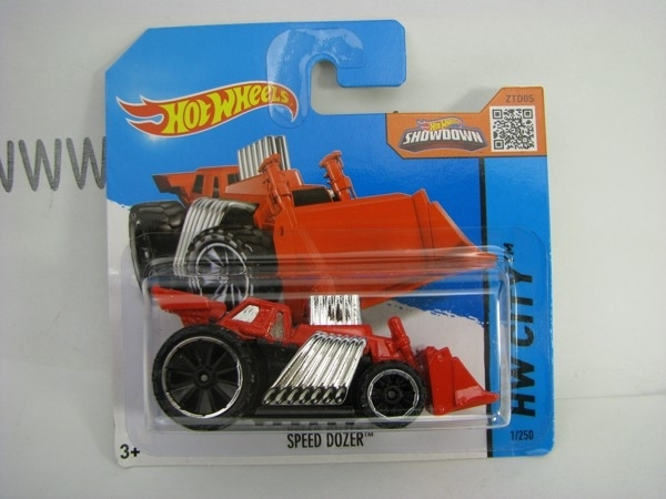 Hot Wheels 2015 Speed Dozer HW City CFJ76