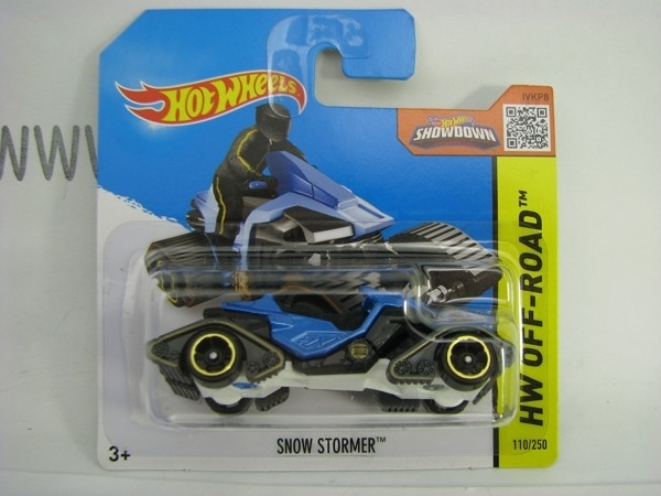 Hot Wheels 2015 Snow Stormer HW Off-Road CFL25