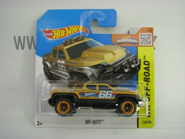 Hot Wheels 2015 Off-Duty HW Off-Road CFL91