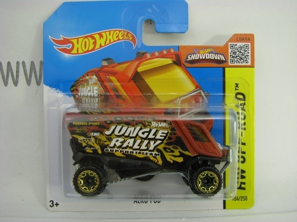 Hot Wheels 2015 Aero Pod Brown HW Off-Road CFL33
