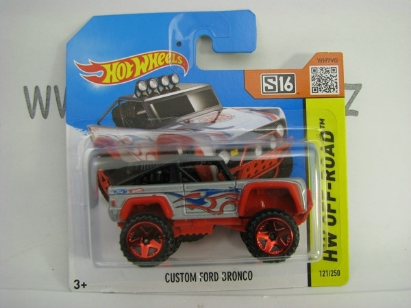 Hot Wheels 2015 Custom Ford Bronco HW Off-Road CFK68