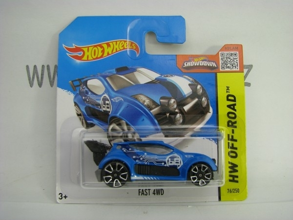 Hot Wheels 2015 Fast 4WD HW Off-Road CFK31