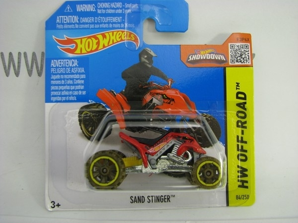 Hot Wheels 2015 Sand Stinger HW Off-Road CFL62