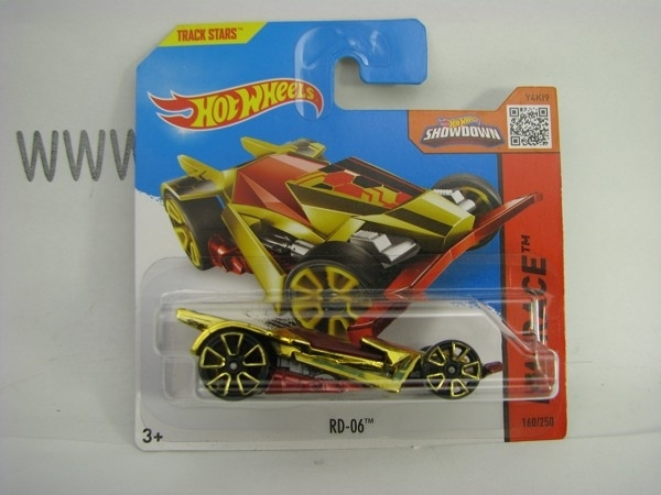Hot Wheels 2015 RD-06 HW Race CFL95