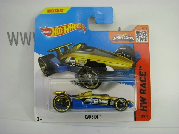 Hot Wheels 2015 Carbide HW Race CFL76
