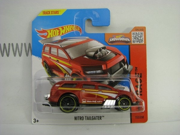 Hot Wheels 2015 Nitro Tailgater HW Race CFM12