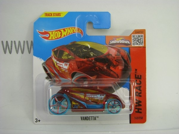 Hot Wheels 2015 Vandetta HW Race CFJ60