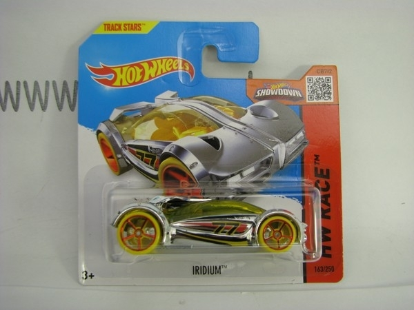 Hot Wheels 2015 Iridium HW Race CFL04