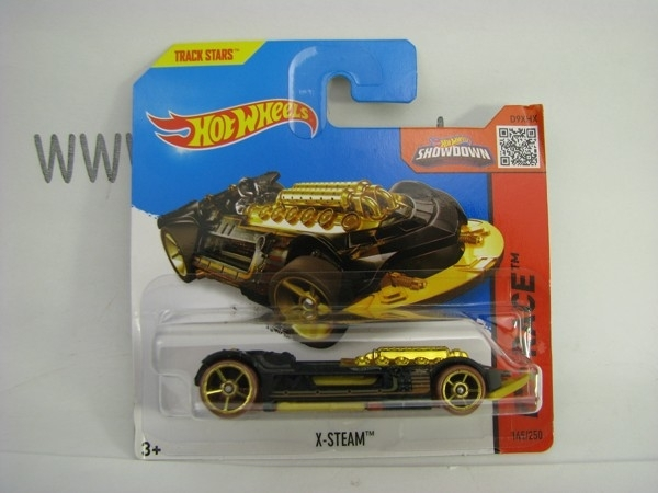 Hot Wheels 2015 X-Steam HW Race CFG98