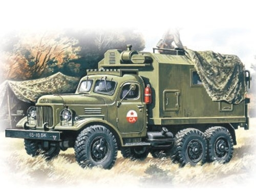 Zil 157 Command Vehicle stavebnice 1:72 ICM 72551