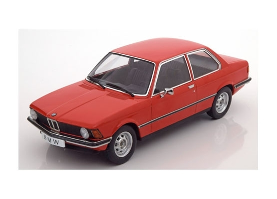 BMW 318i E21 1975 Red 1:18 KK scale
