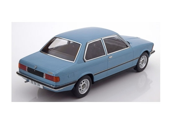 BMW 318i E21 1975 Blue 1:18 KK scale