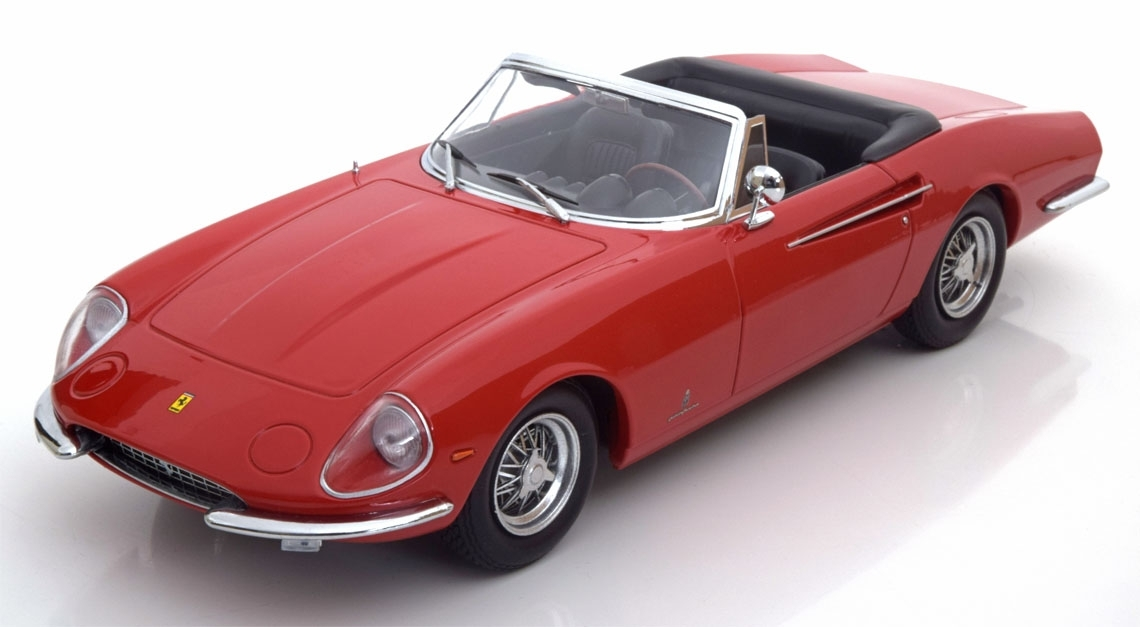 Ferrari 365 California Spyder Red 1:18 KK scale