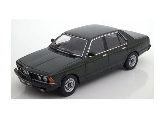 BMW 733i E23 1977 Green 1:18 KK scale