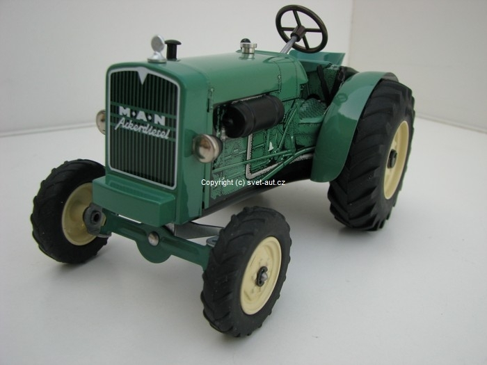 Traktor MAN AS 325A na klíček 1:25 Kovap