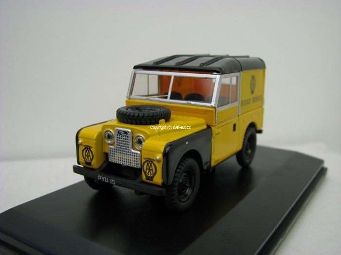 Land Rover AA 88 Road Service 1:43 Oxford