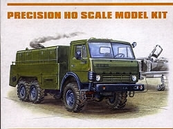 Kamaz 4310 Engine Driven Generator 1:87 MAC