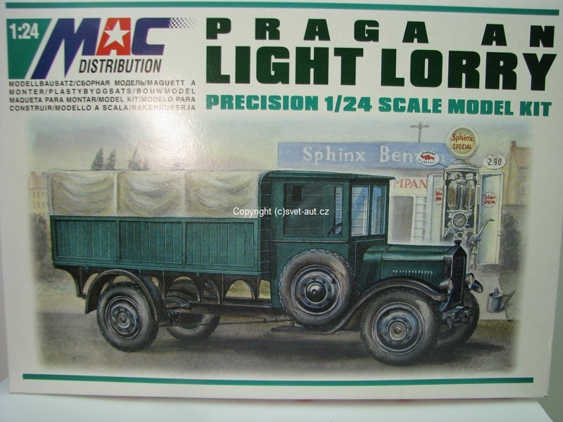 Praga AN Light Lorry stavebnice 1:24 MAC