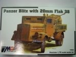 Opel Blitz panzer with 20mm Flak 38 1:72 MAC