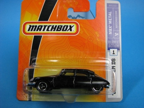 Citroen DS 1968 black Matchbox
