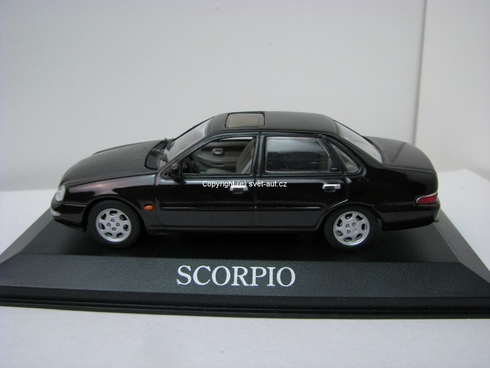 Ford Scorpio sedan Black 1:43 Minichamps