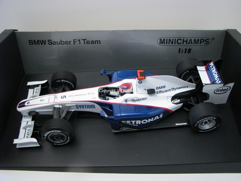 BMW Sauber F1 Team 2009 Kubica 1:18 Minichamps