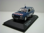 Peugeot 504 Break Gendarmerie 1:43 Minichamps