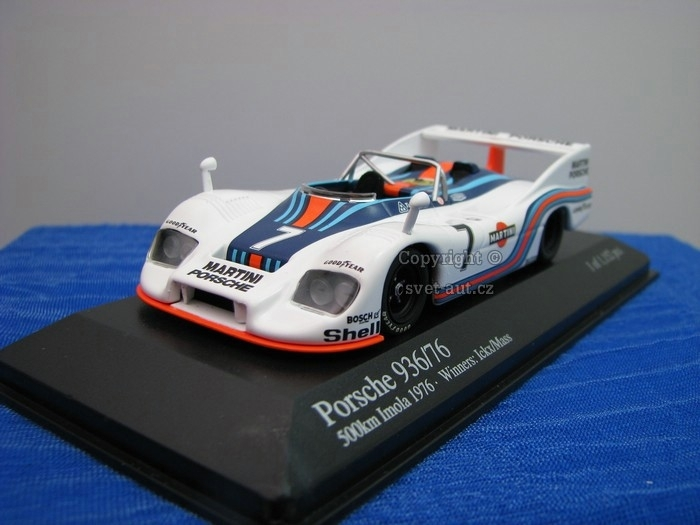 Porsche 936/76 Martini No.7 Mass/lckx 1976 1:43 Minichamps