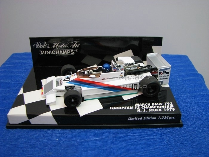 March BMW 792 H.J. Stuck 1979 1:43 Minichamps
