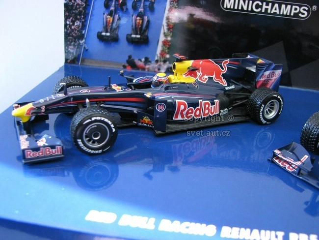 Red Bull Racing Renault RB5 1-2 Finish Chinee GP 2009