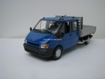 Ford Transit Truck Double Cab Blue 1:43 Minichamps